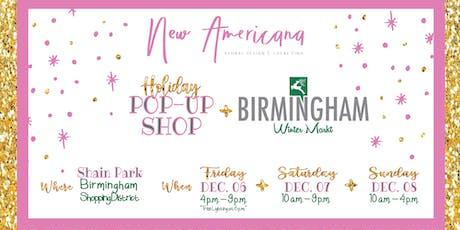 New Americana Pop Up At The Birmingham Winter Market tickets