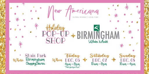 New Americana Pop Up At The Birmingham Winter Market