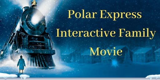 Polar Express interactive family movie