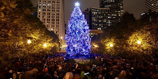 Chicago Holiday Light's Tour
