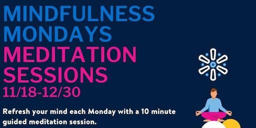 Mindfulness Mondays Guided Meditation Session
