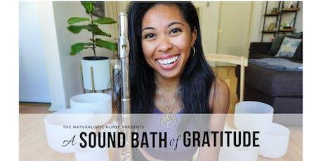 A Sound Bath of Gratitude tickets