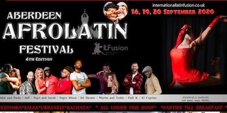 Aberdeen AfroLatin Festival 4th edition 2021 tickets