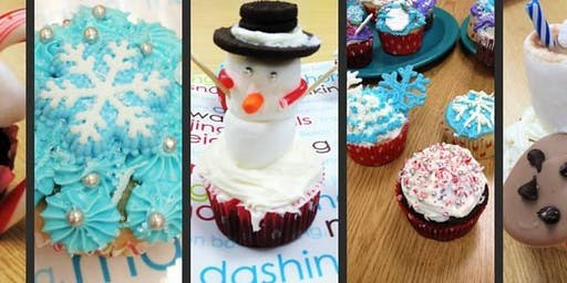 Kids Holiday Cupcake Wars Competition - Monday, 12/9