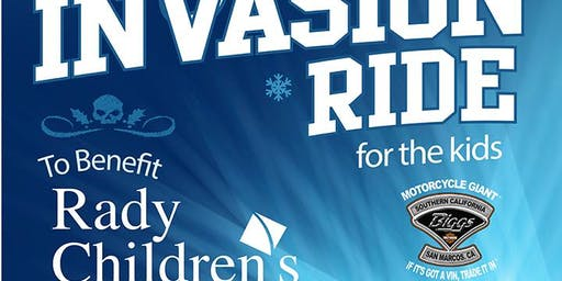14th Annual Toy Store Invasion Ride for the kids