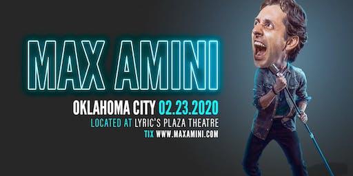 Max Amini Live in Oklahoma - 2020 World Tour