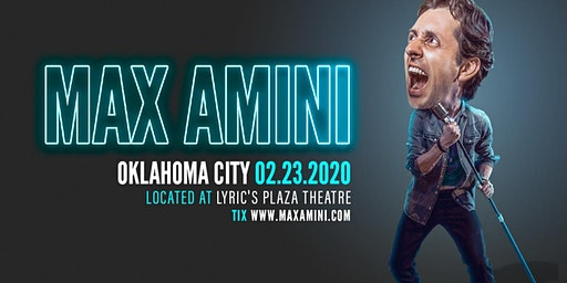 Max Amini Live in Oklahoma - 2020 World Tour
