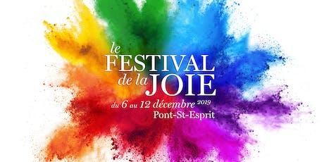 Le Festival de la Joie billets