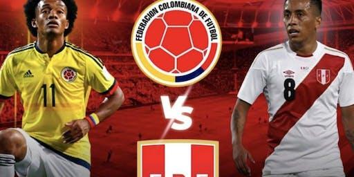 Colombia vs Peru @BarCode
