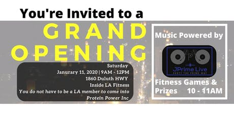 Protein Power Grand Opening tickets