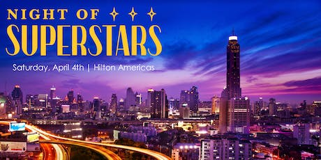 Night of Superstars: Houston 2020 tickets