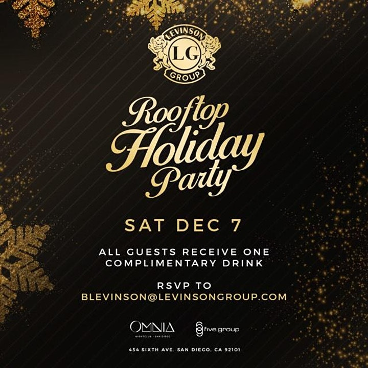 Levinson Group Annual Holiday Party image