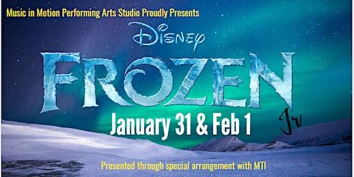 Frozen (Show 2) Tickets sold Dec 13 to Jan 30