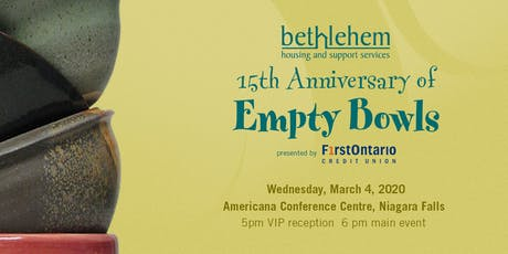 15th Anniversary of Empty Bowls tickets