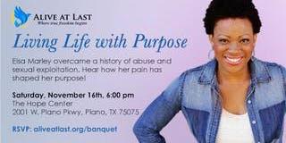 Fall Banquet benefitting human trafficking victims