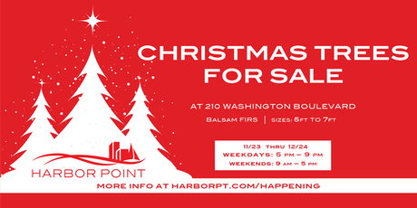 Harbor Point Christmas Trees for Sale tickets
