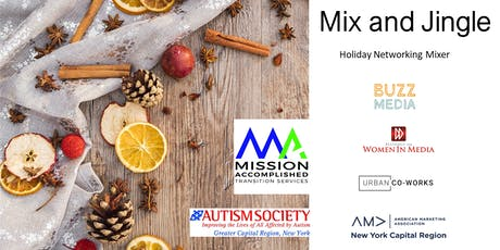 Mix and Jingle: Holiday Networking MIxer tickets
