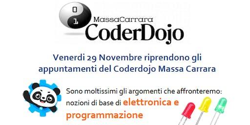 29 Novembre Coderdojo Massa Carrara