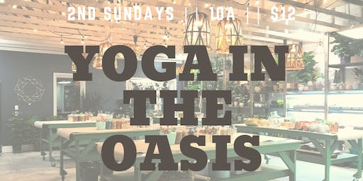 Yoga in the Oasis - NFK