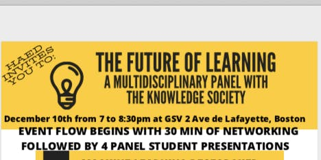 The Future of Learning: A Multidisciplinary Panel with The Knowledge Society