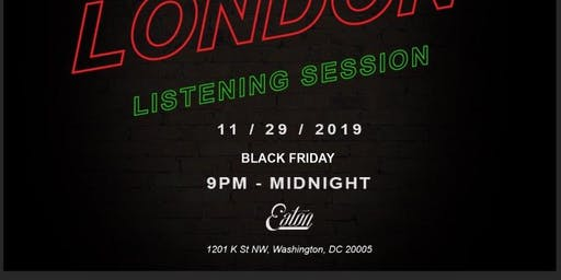 Lost in London listening session