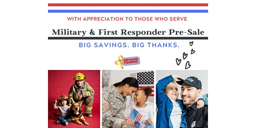 JBF-Henry County Military & First Responder Spring 2020 Pre-Sale Event