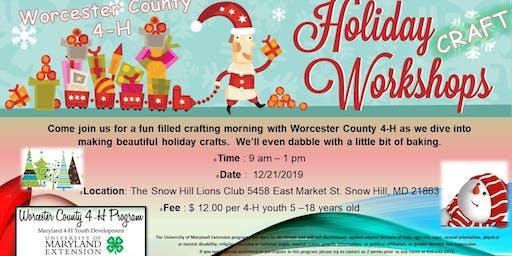 Worcester County 4-H Holiday Craft Workshop