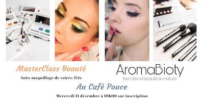 MasterClass Beauté - Maquillage de fête