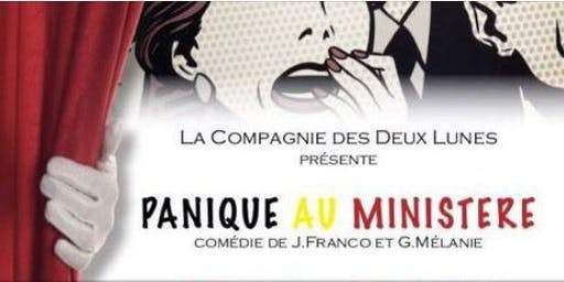 """Pièce de théâtre """"Panique au Ministère """" par la compagnie des deux lunes"""