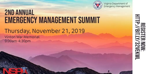 NSPA & VDEM Emergency Management Summit