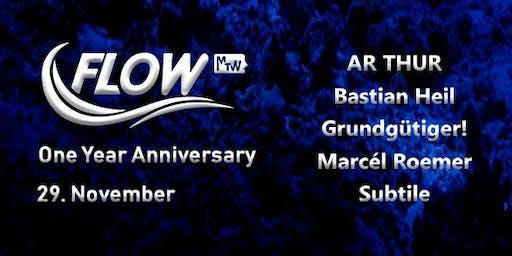 FLOW 1 Year Anniversary