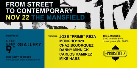 From Street to Contemporary tickets