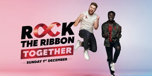 Rock the Ribbon  on World AIDS Day