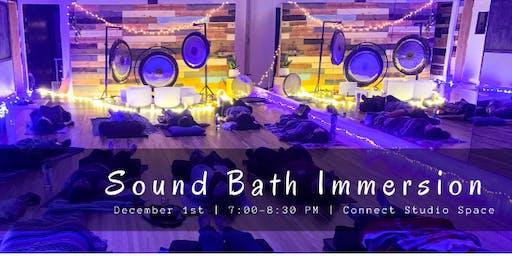 Sound Bath Immersion (Orange)