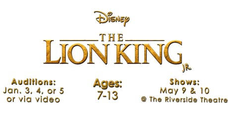 AUDITIONS for THE LION KING Full-Scale Spring Production tickets