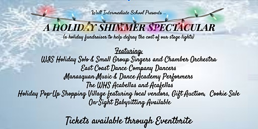 WIS Presents...A Holiday Shimmer Spectacular!