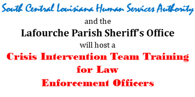 Crisis Intervention Team Training for Law Enforcement Officers