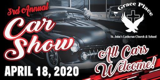 3RD ANNUAL ST. JOHN'S LUTHERAN CAR SHOW