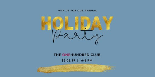 Catapult Holiday Party at The One Hundred Club