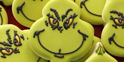 Mr. Grinch beginner cookie class