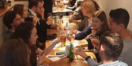 Italiaanse wijnproeverij met finger food tickets