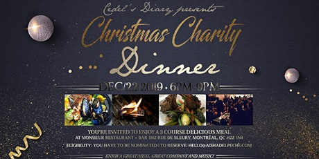 Annual Christmas Charity Dinner billets