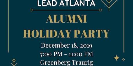 2019 LEAD Atlanta Alumni Holiday Party tickets