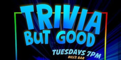 Quiz Meisters Trivia at Bill's Bar Boston!  tickets