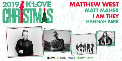 K-Love Christmas Tour MERCH/LOBBY VOLUNTEERING - Brandon, MS (Jackson)