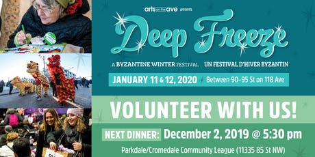 Deep Freeze Volunteer Dinner tickets