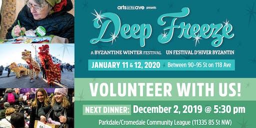 Deep Freeze Volunteer Dinner