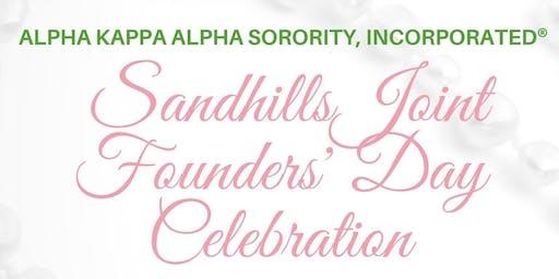 Sandhills Joint Founders' Day Celebration - Alpha Kappa Alpha