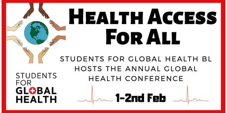 National Global Health Conference: Health Access for All tickets