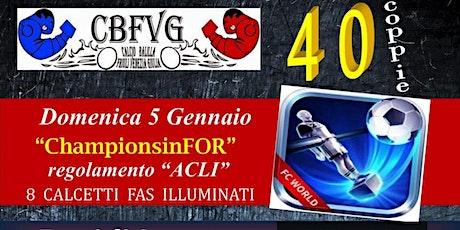 Championsinfor - CalcioBalilla biglietti